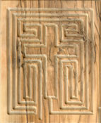 Bethlehem Olive Wood Labyrinth